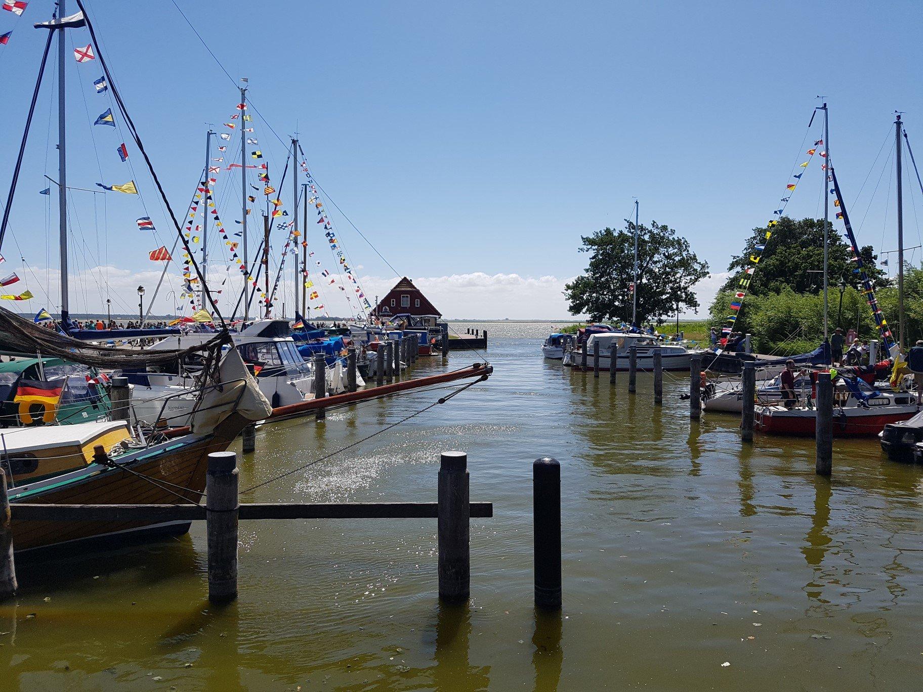 Wieck - Hafen