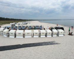 Buchlesung am Strand